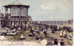 1893 Eastbourne's first bandstand.
